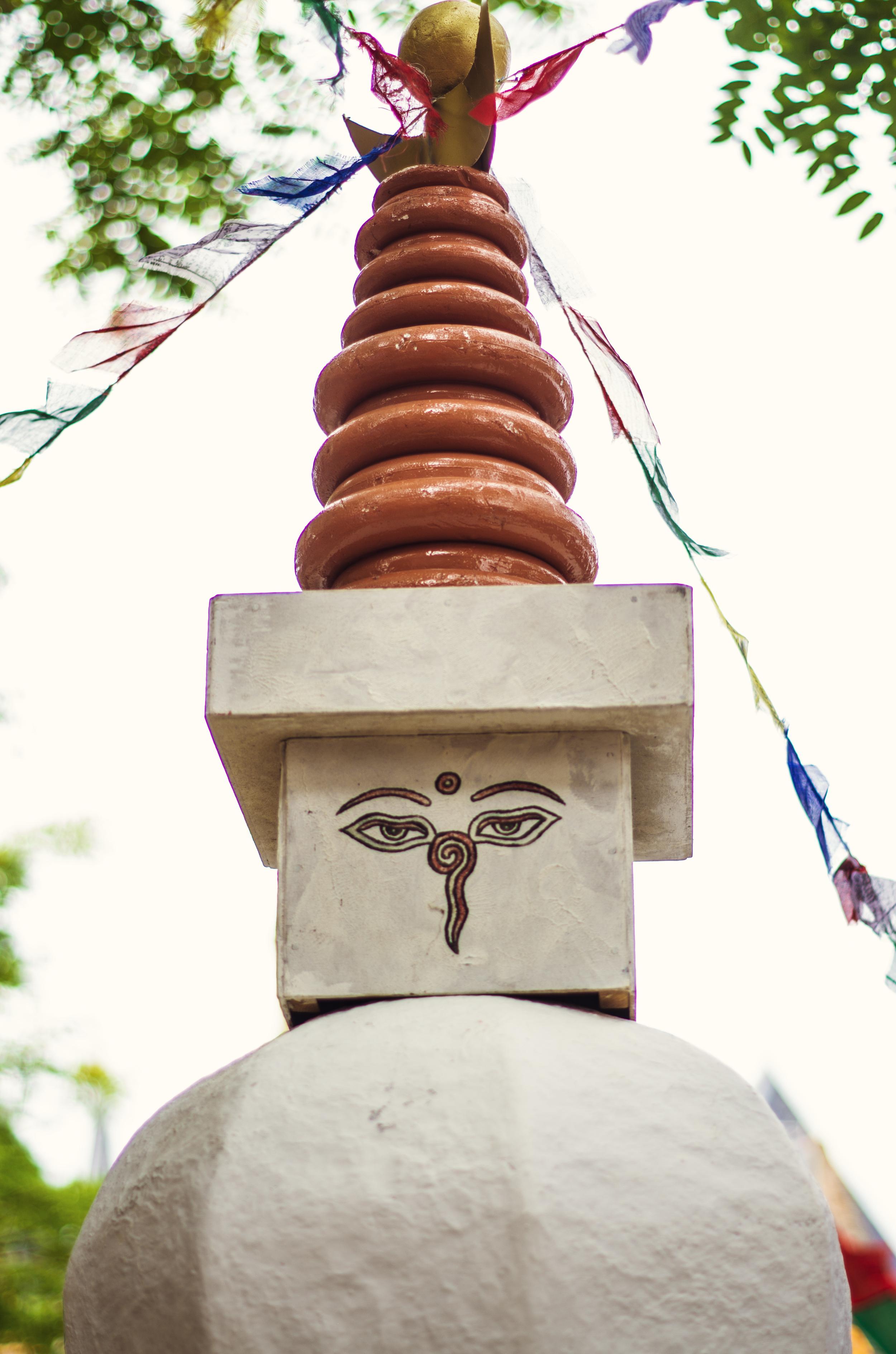 Stupa tijdens Enkhuizen helpt Nepal