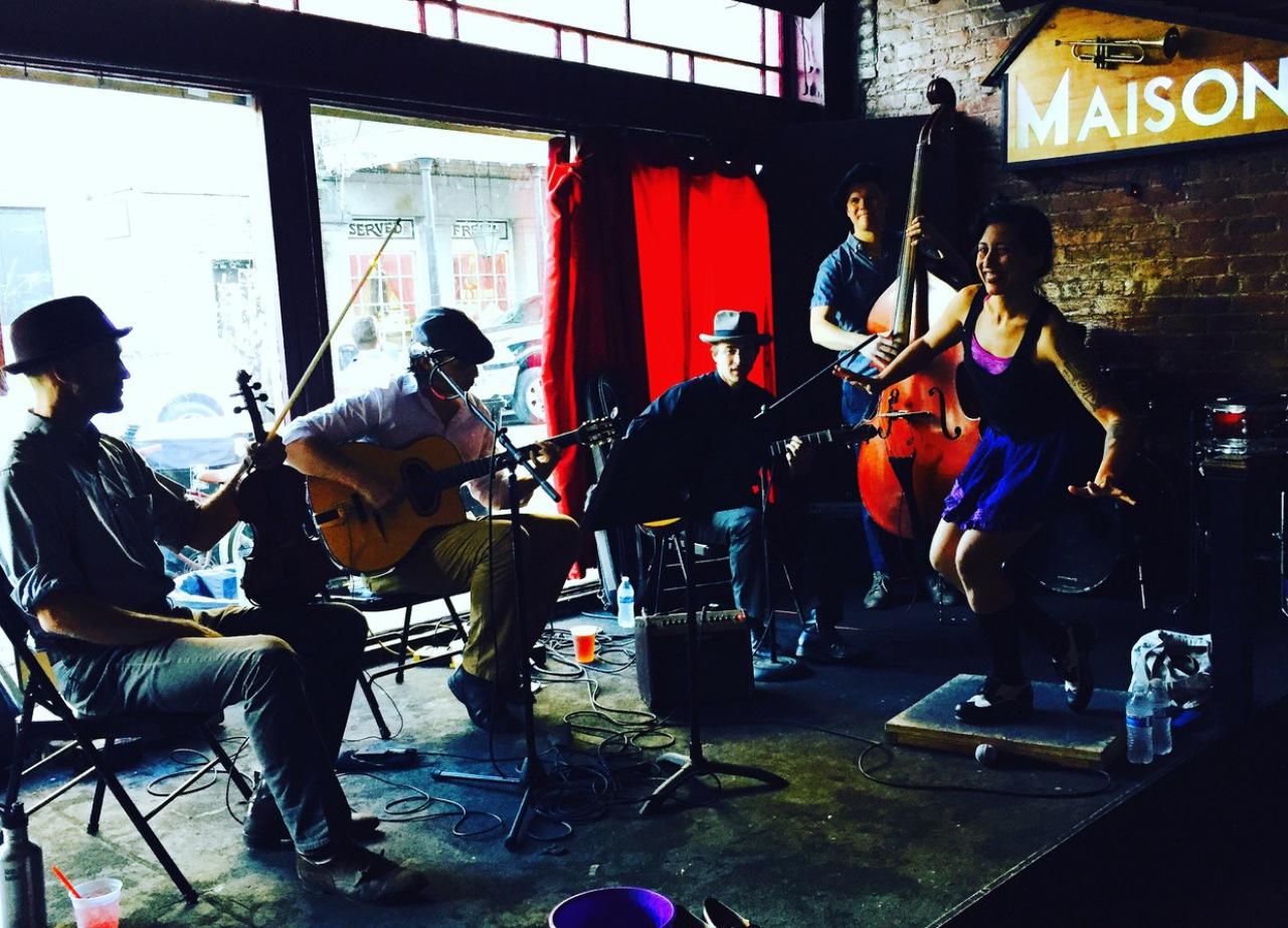 G & The New Orleans Swinging Gypsies