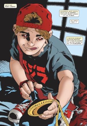 Remy Lebeau as a child ( Gambit Vol. 3 #25 )**