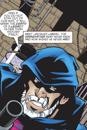 Jaques LeBeau's first appearance ( Gambit Vol.3 #12 )