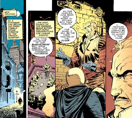 Jean-Luc LeBeau's first appearance in  Gambit Vol.1 #1