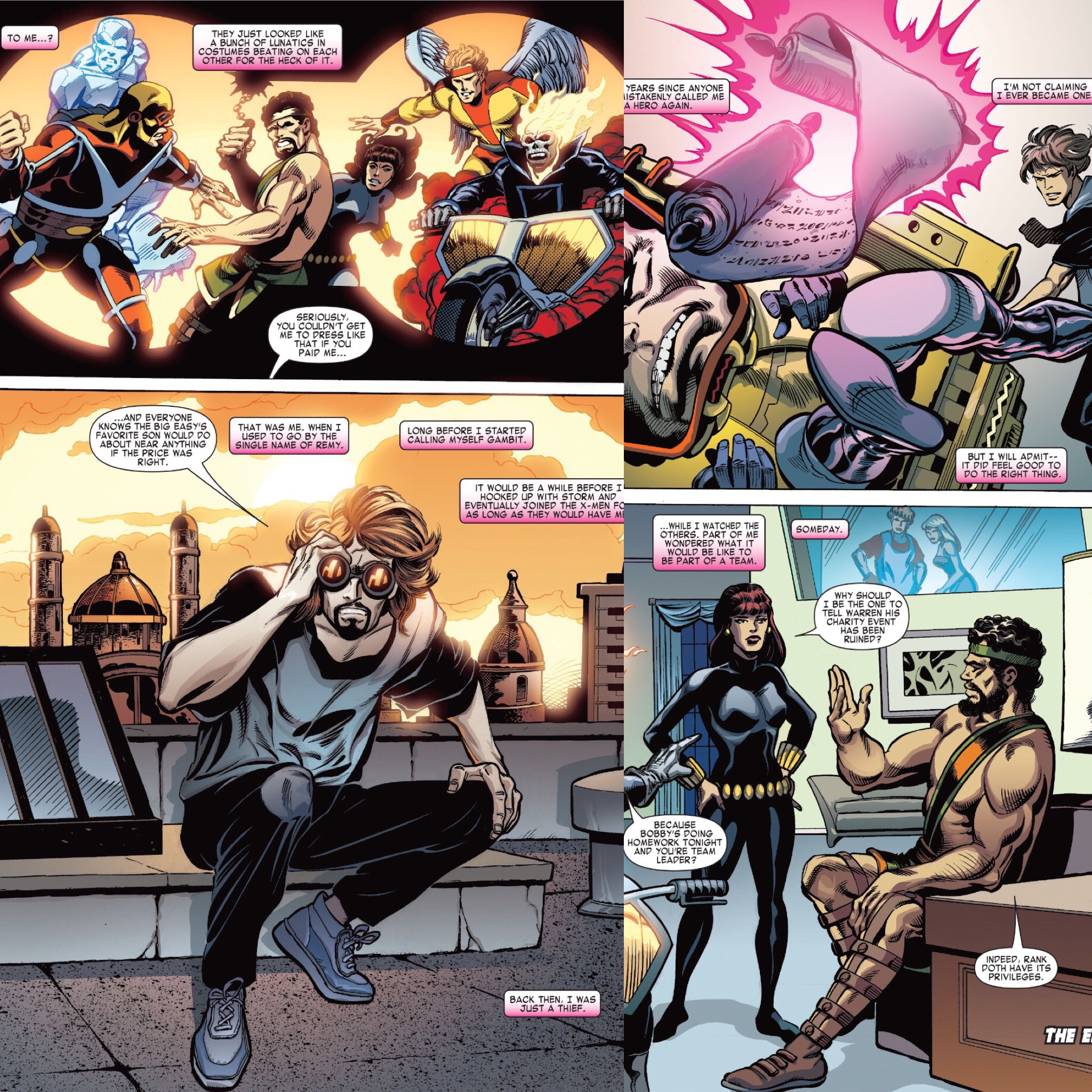 Gambit and the Champions ( Gambit: From the Marvel Vault )