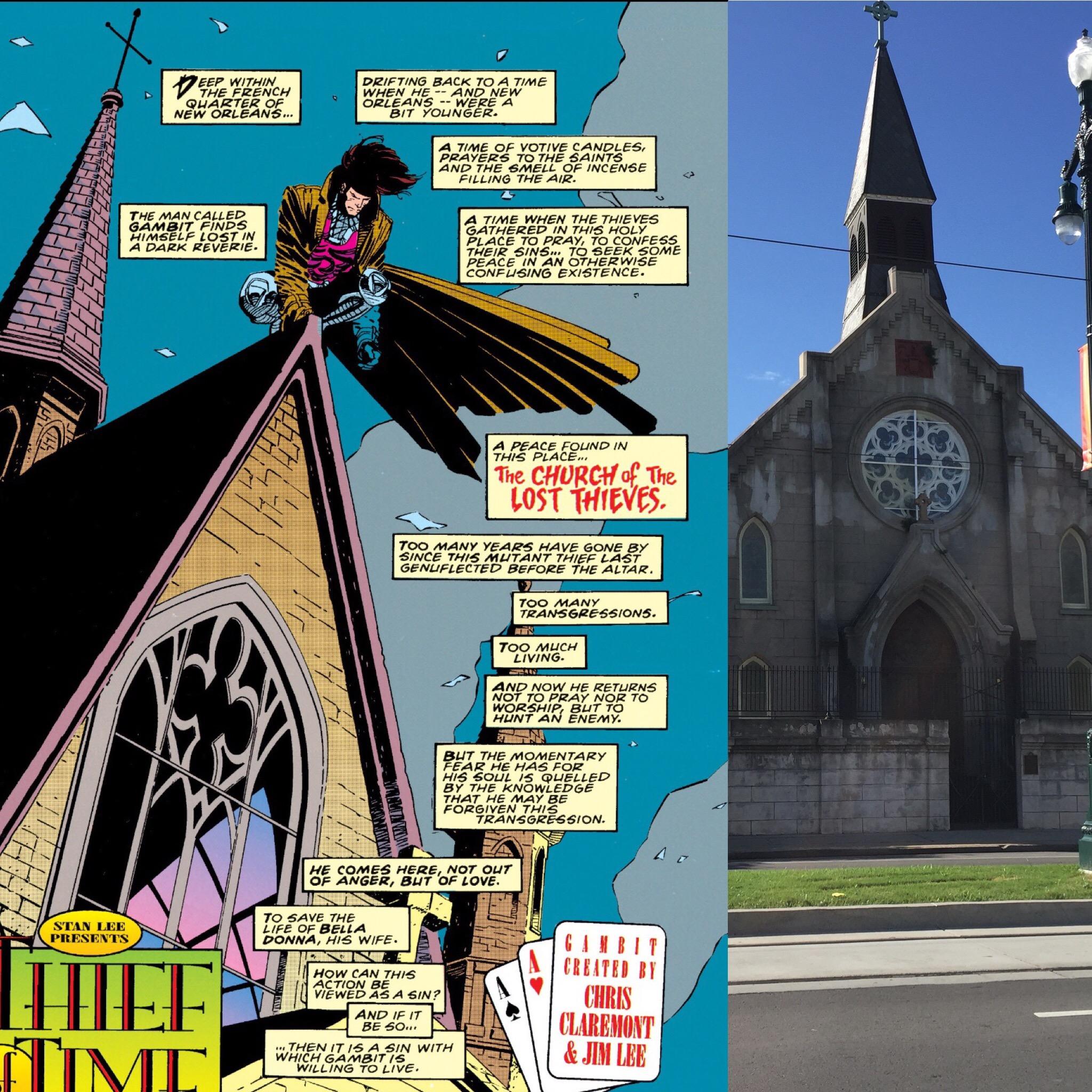 The Church of the Lost Thieves ( Gambit Vol. 1 #4 )