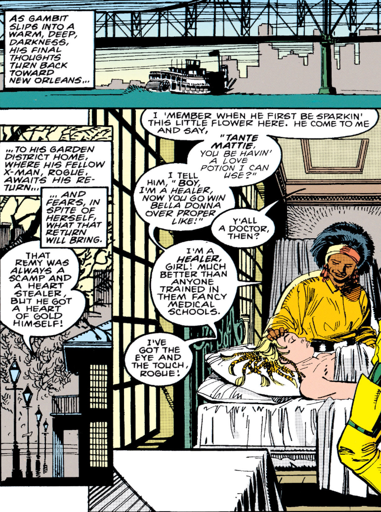 Tante Mattie's first appearance ( Gambit Vol.1 #3 )