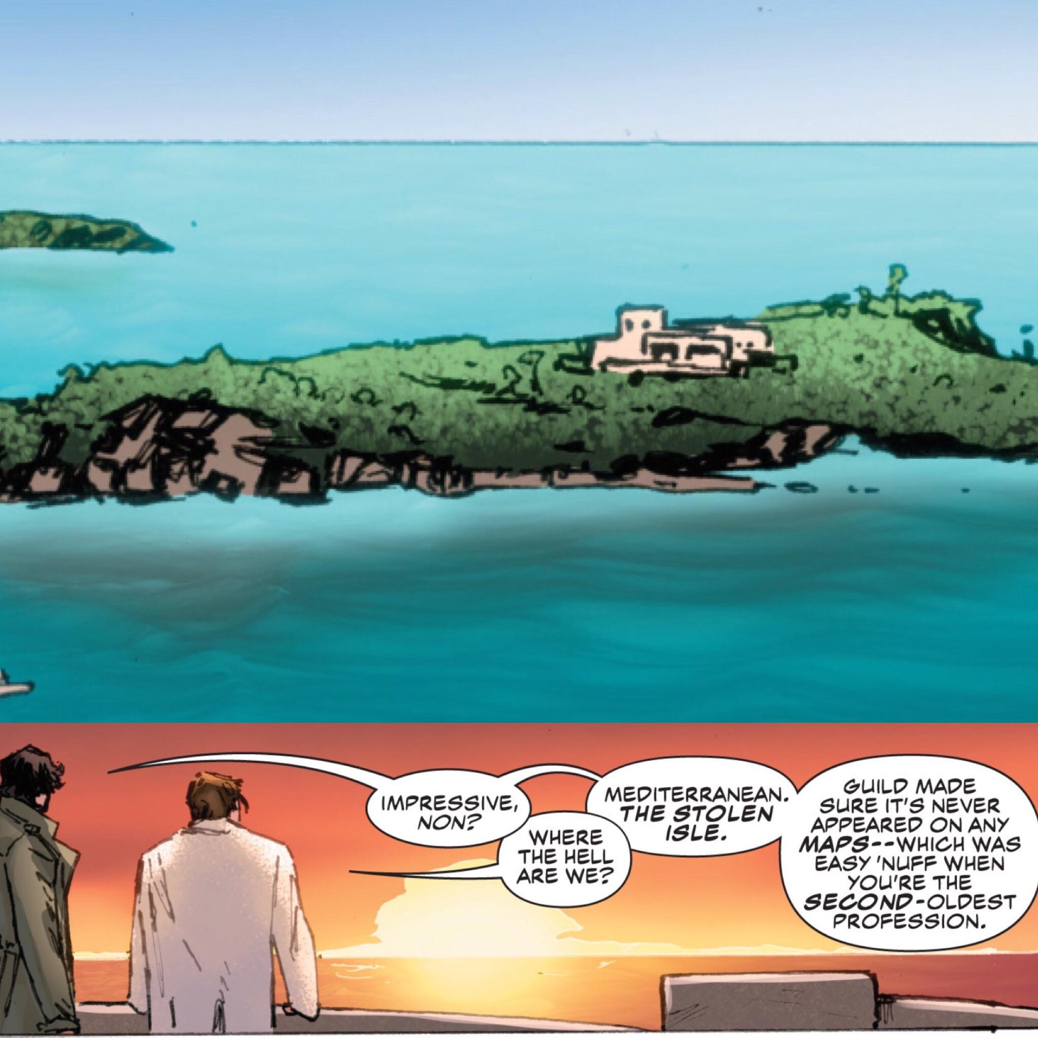 The Stolen Isle ( Gambit Vol.5 #16 )