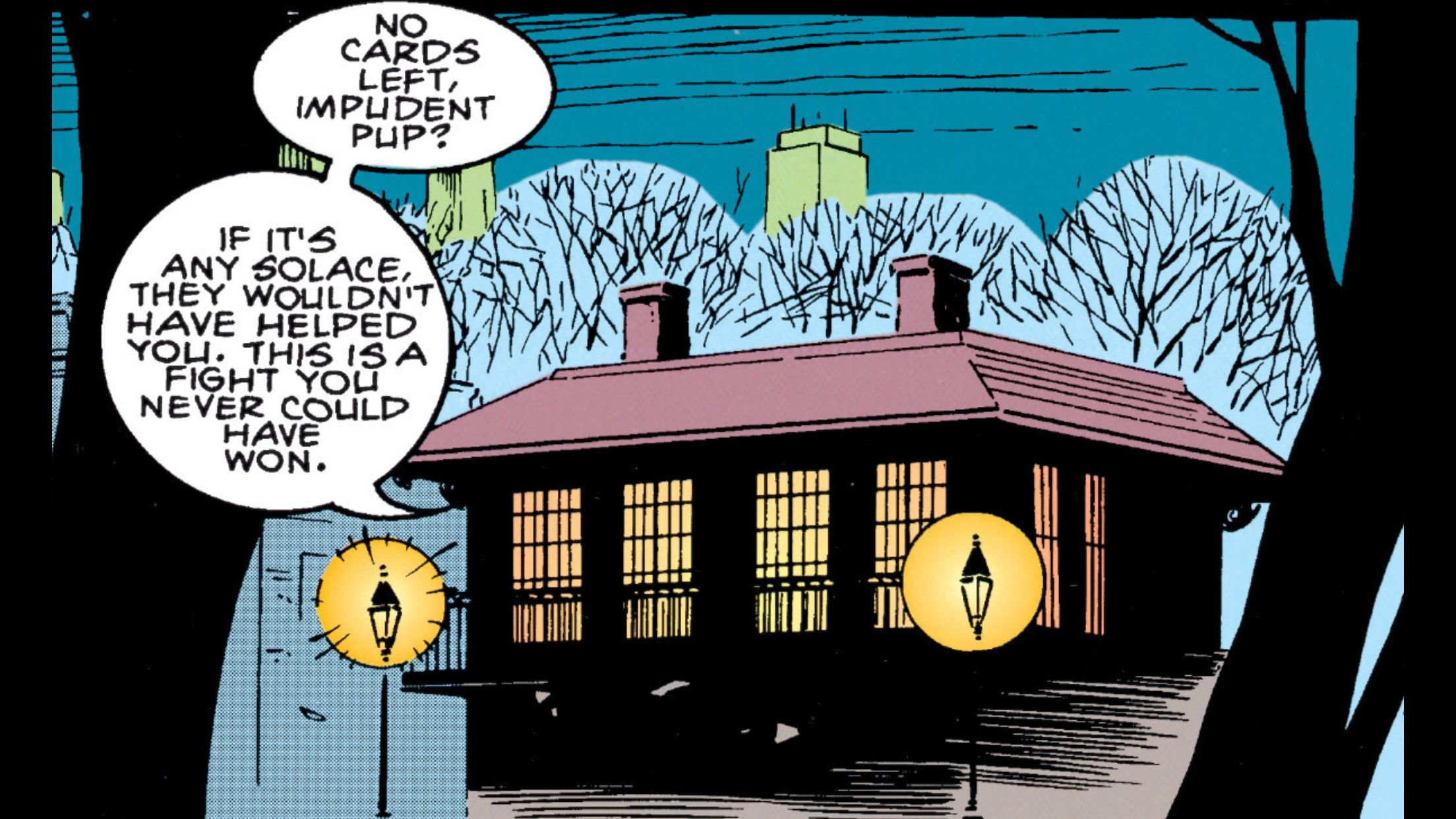 One of Gambit's many New Orleans properties in the Garden District ( Gambit Vol.1 #4 ).