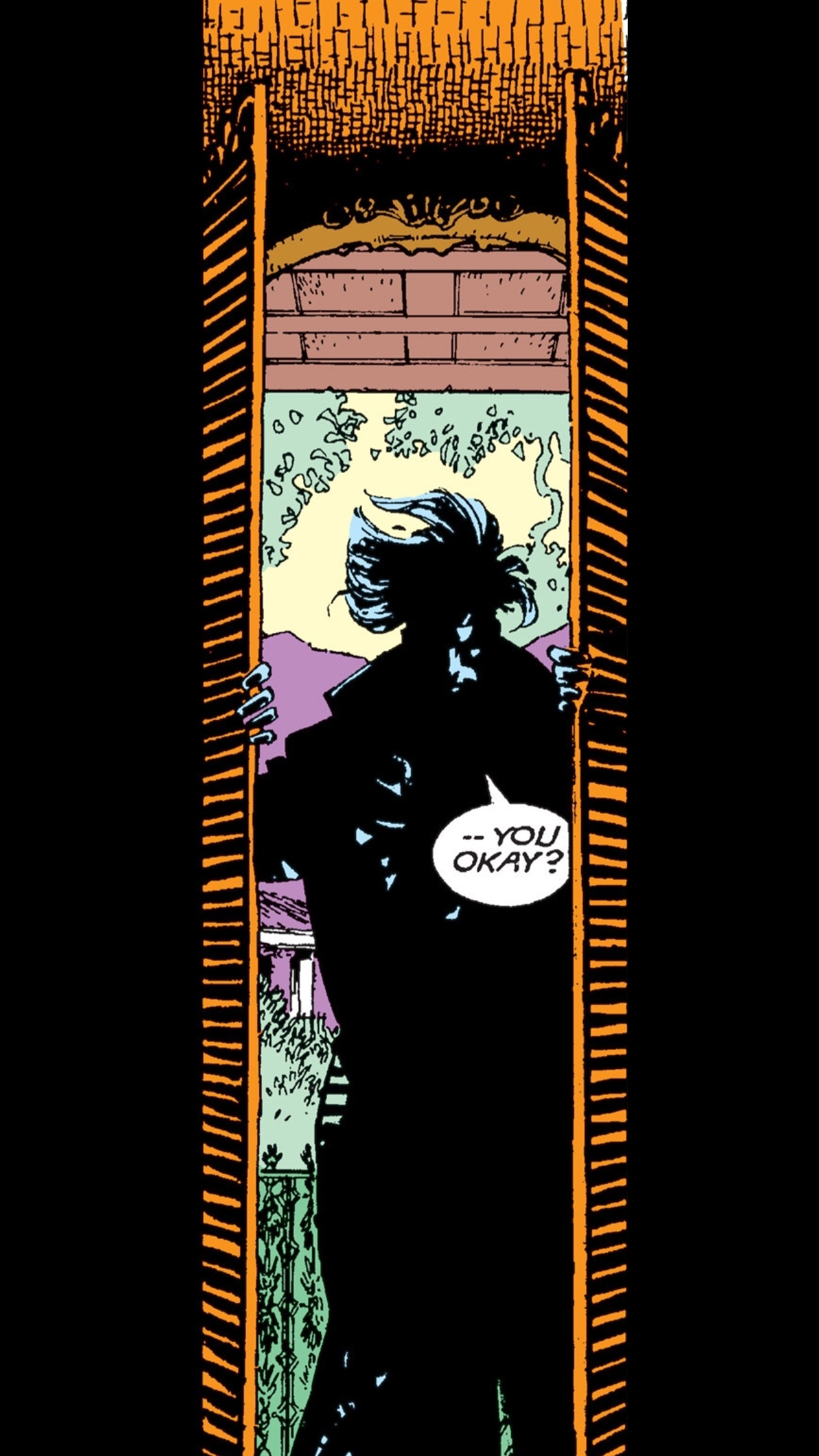 Gambit entering one of his French Quarter apartments ( Uncanny X-Men #267 ).