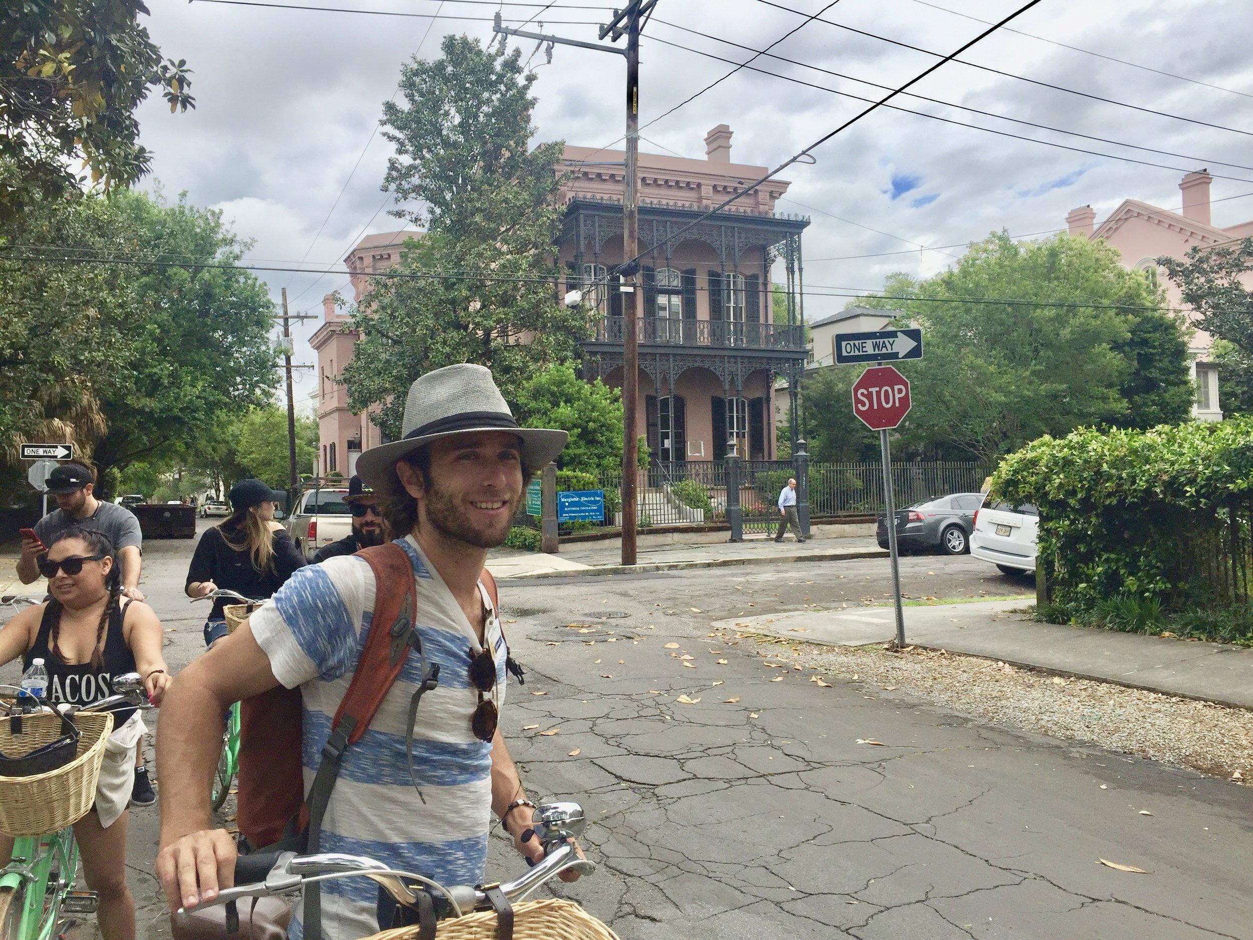 New Orleans Garden District Bike Tour