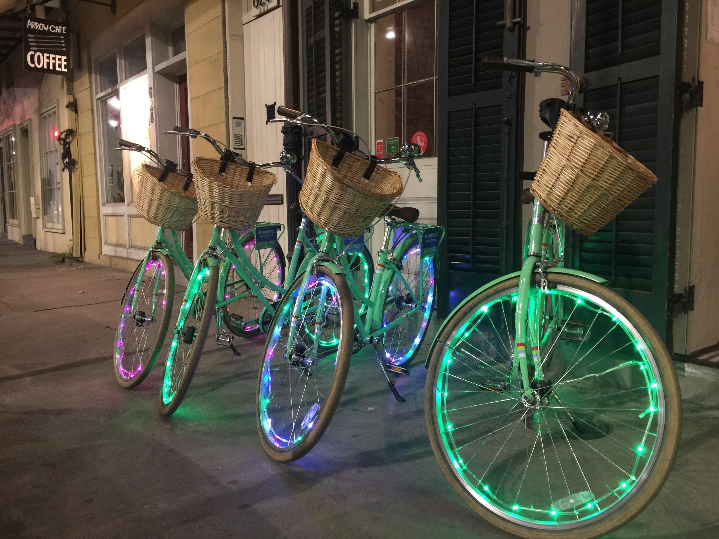New Orleans Bike Lights