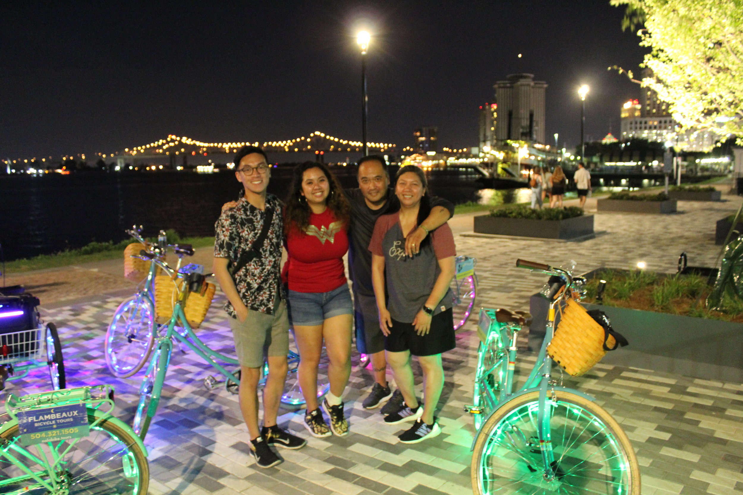 Group Bike Rides in New Orleans
