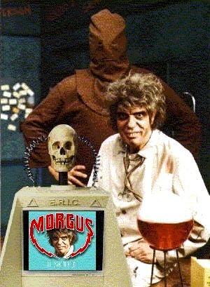 Morgus, Chopsley, and E.R.I.C.