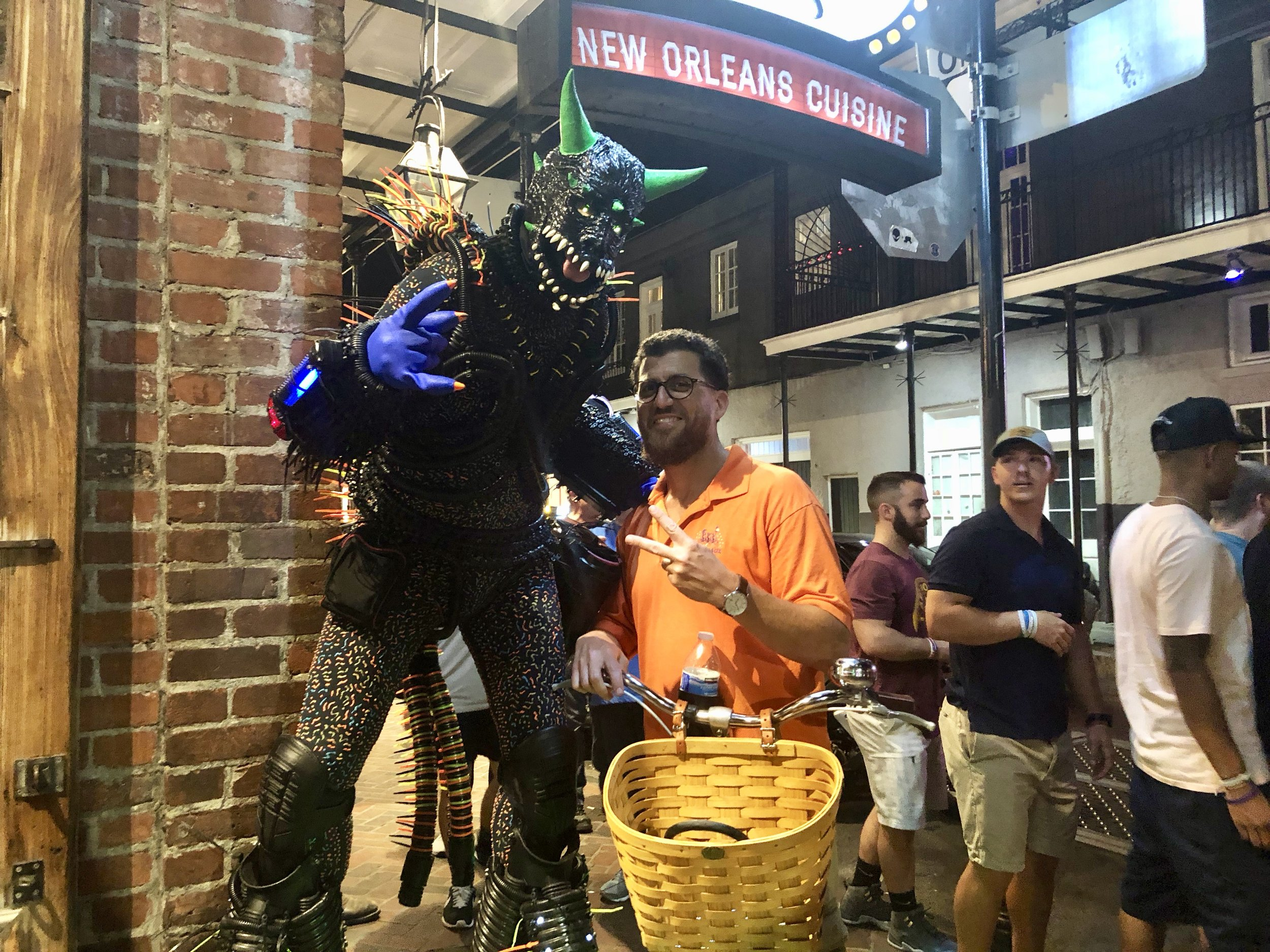 One of the many aliens I've set up with hustles in the French Quarter…and as Remy said, they can walk around New Orleans and fit right in without setting off any alarms.