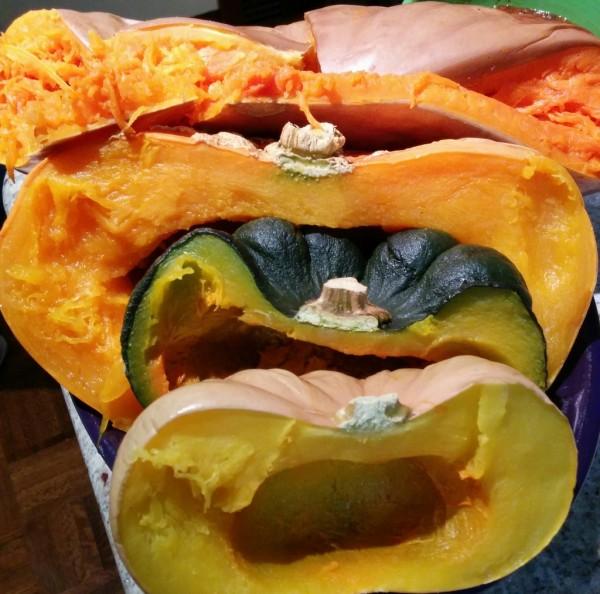 roasted pie pumpkin