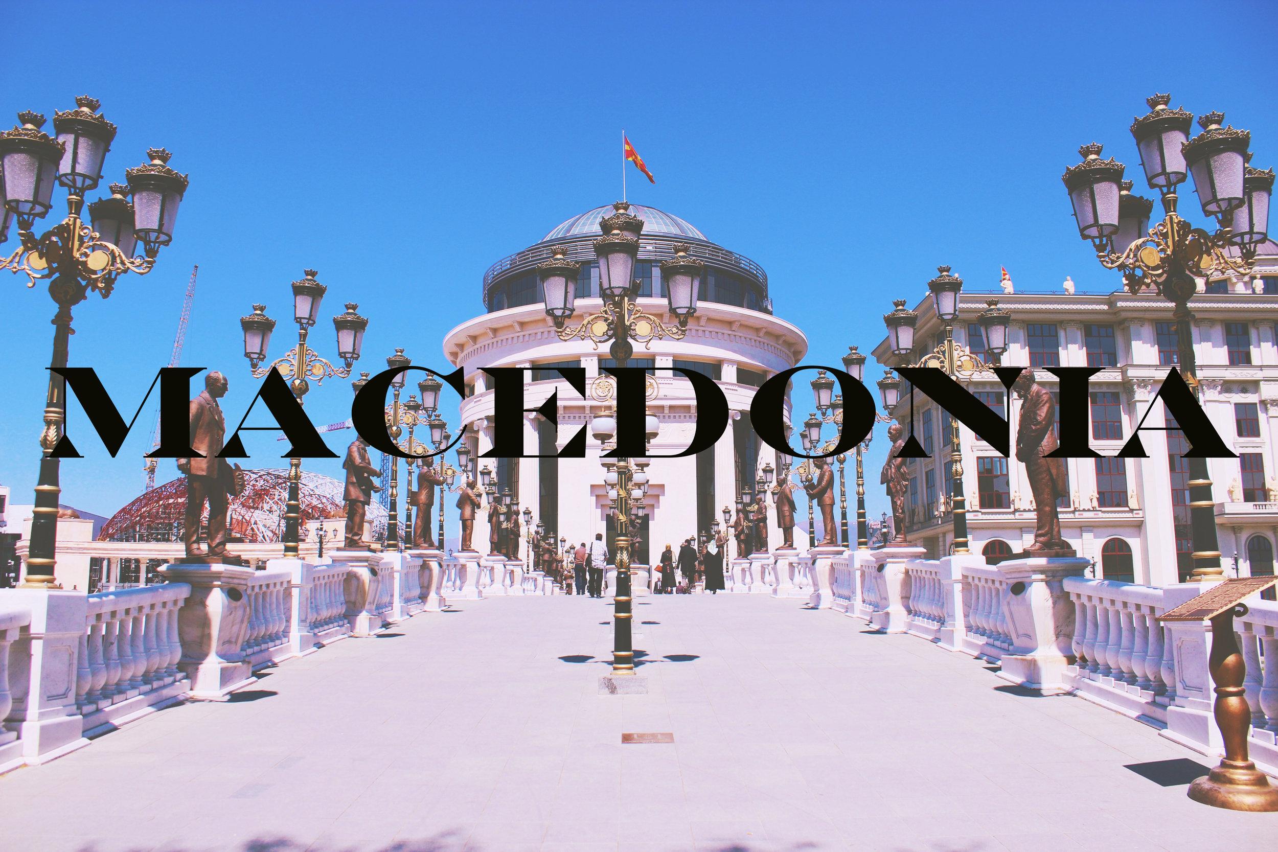 Statues, Selfies, and Skopje