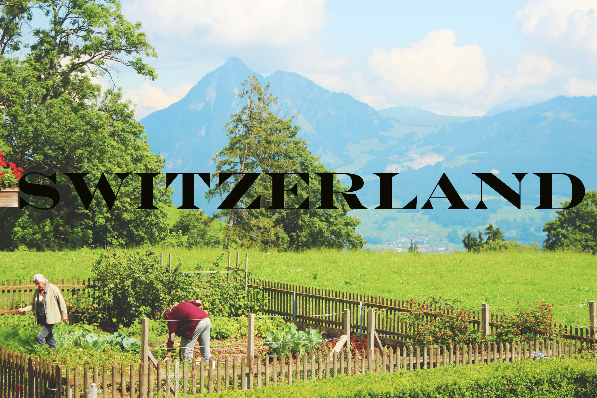 The Art of Travel    Alpnach, the Alps, and a Lot of Cheese    Obwalden: Learning to be Urchig