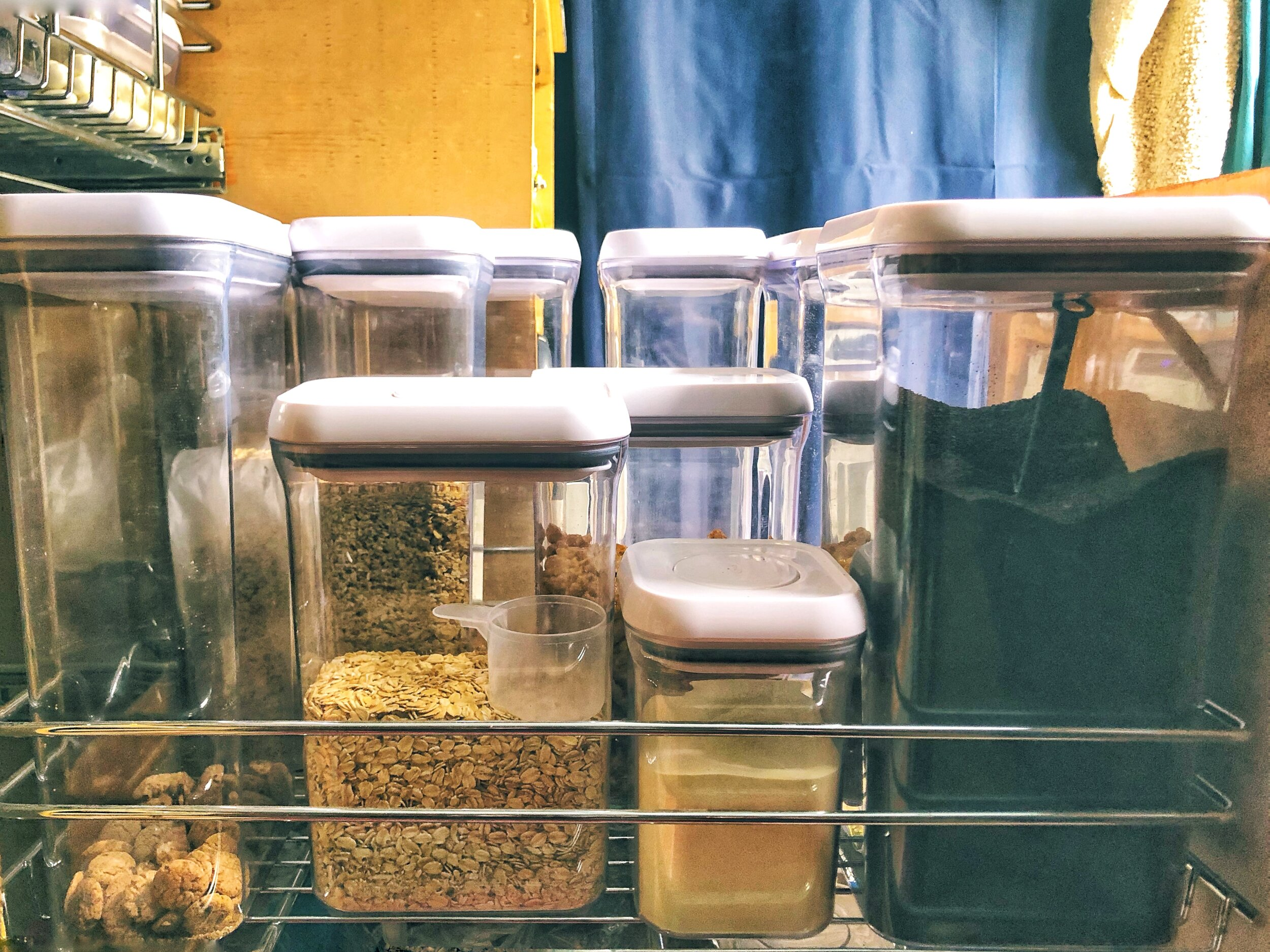 A bought-in-bulk pantry is a beautiful pantry, no matter the size of it.