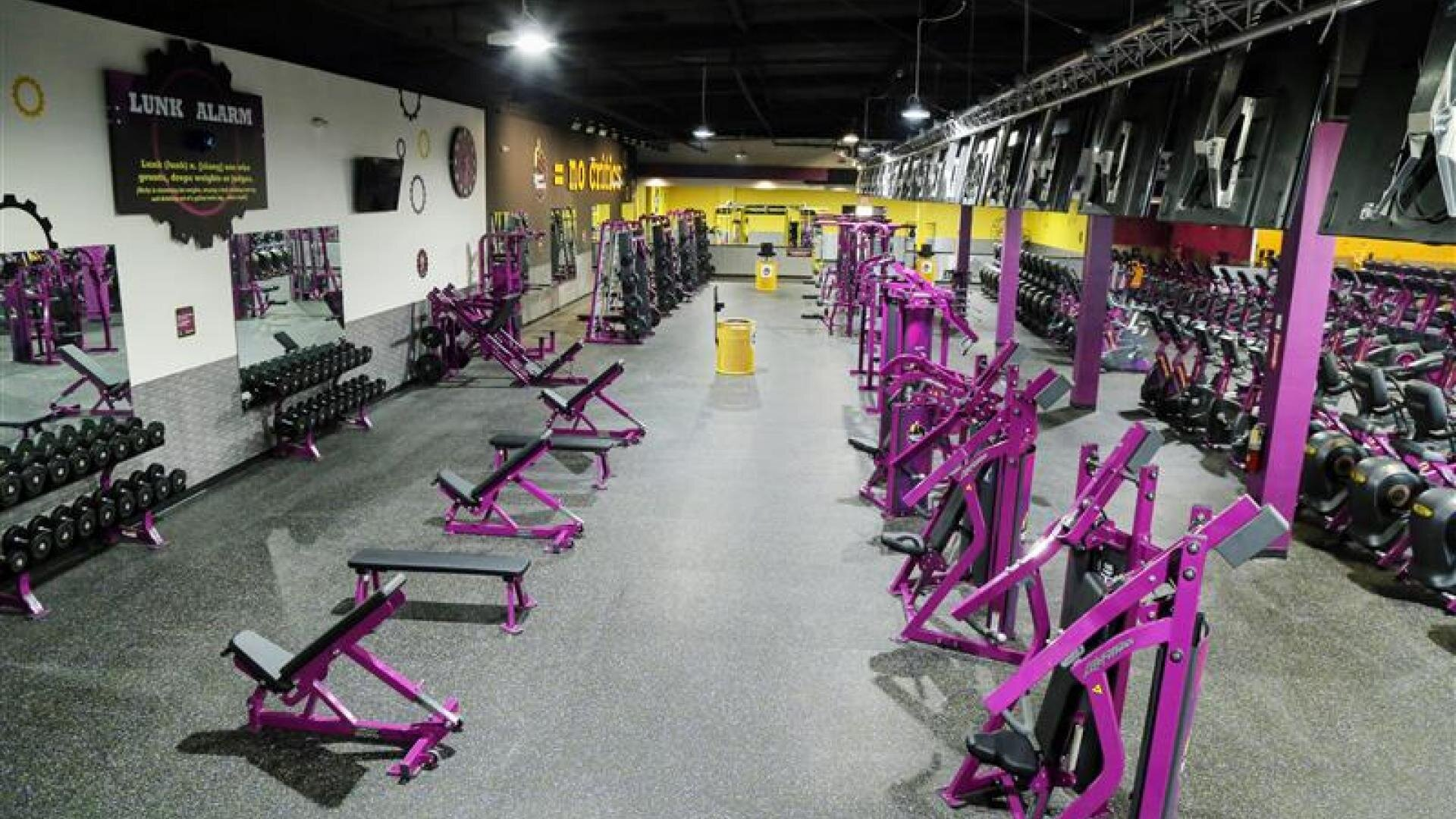 Image courtesy of Planet Fitness, Visalia, CA branch.
