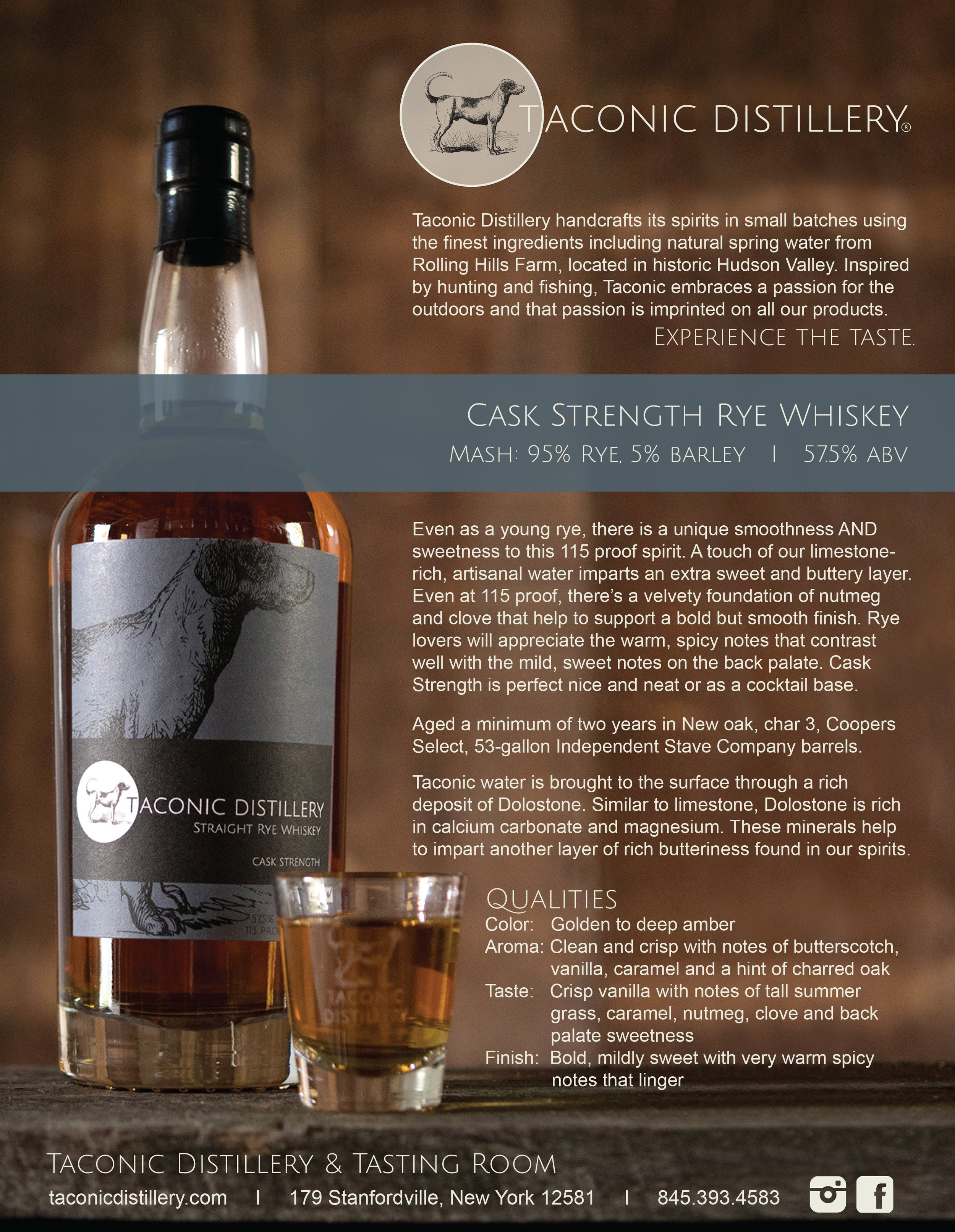 Cask Strength Rye Whiskey
