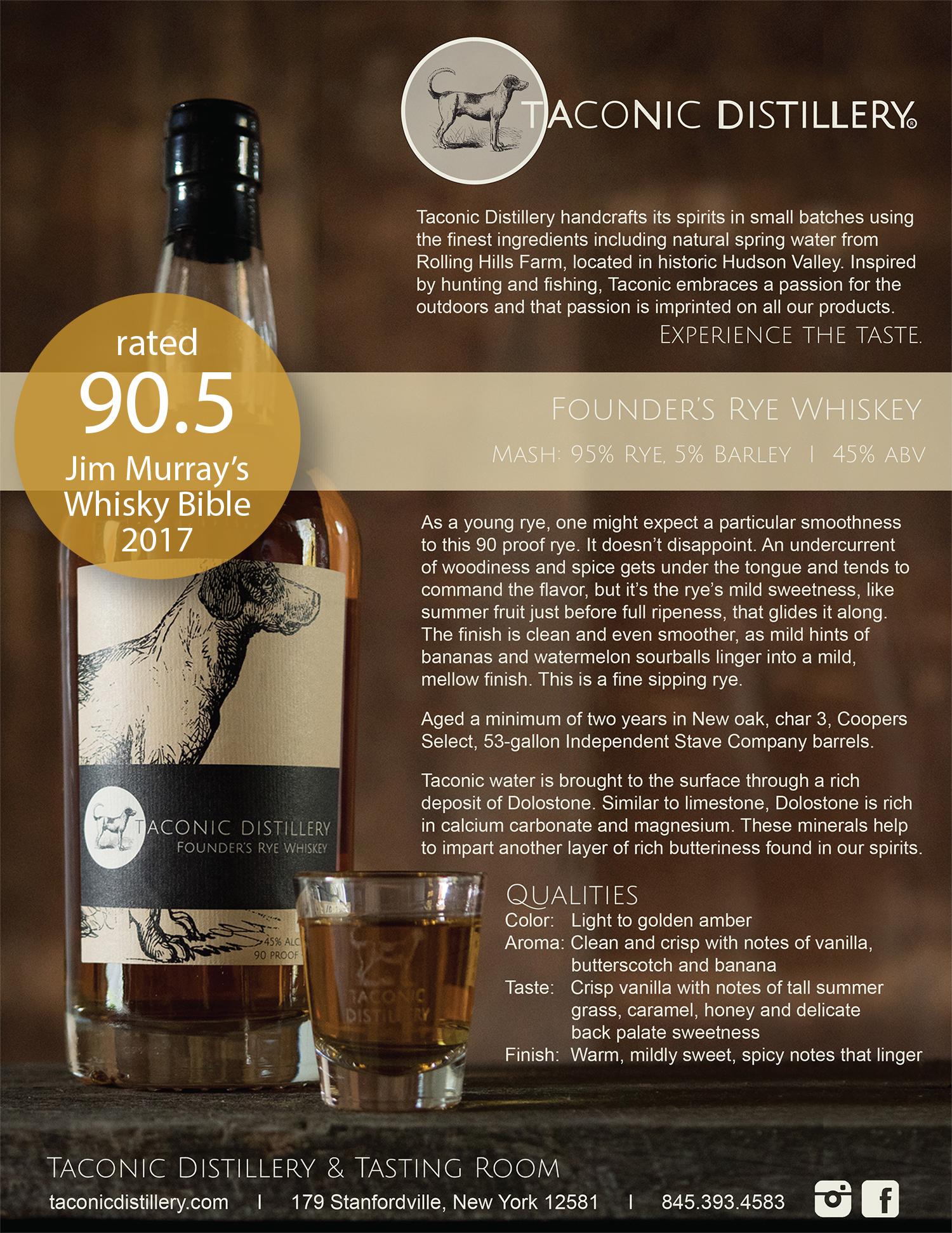 Founder's Rye Whiskey