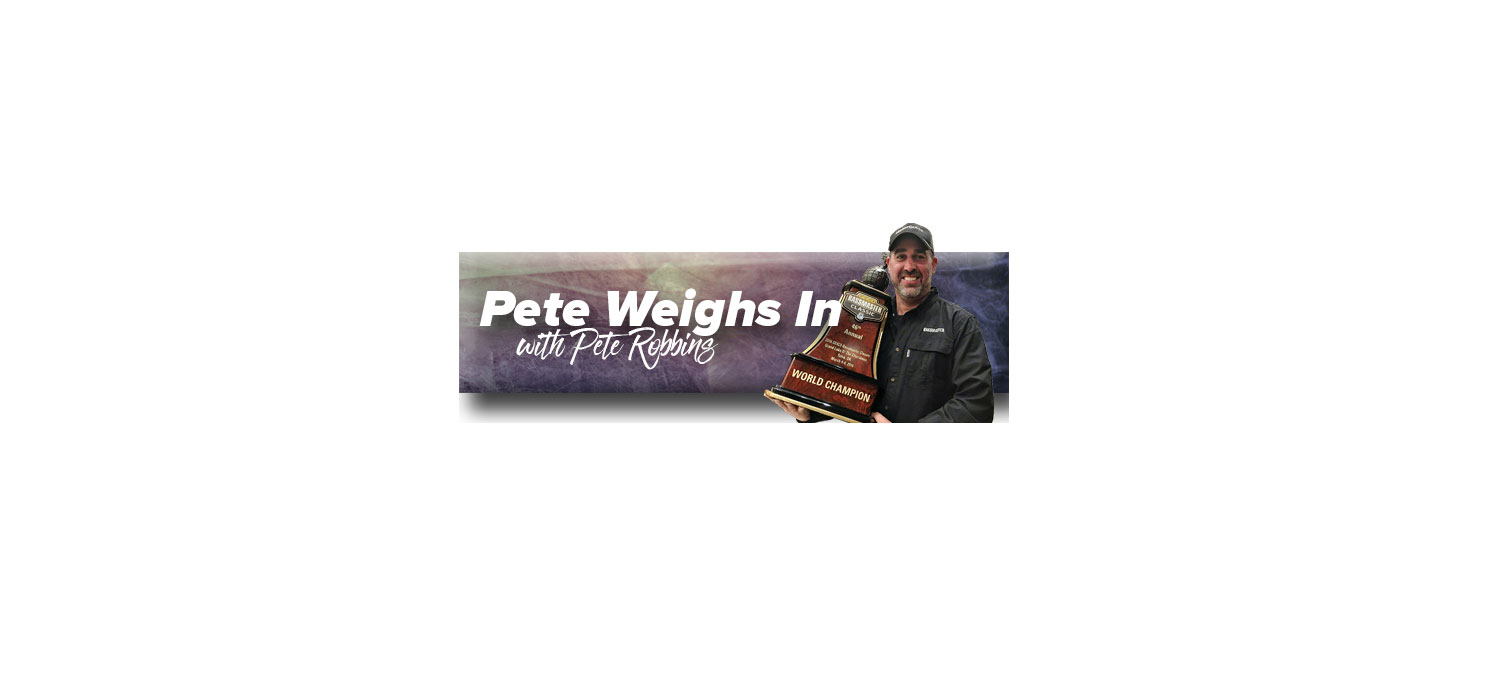 Pete Weighs In — The Inside Line