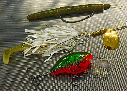 By rotating this series of baits, I secured a solid finish at the opener on the Sabine River.