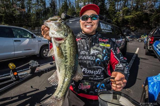 - Day One was rough, but I got some beautiful fish on Day Two! - photo courtesy of FLWFishing.com