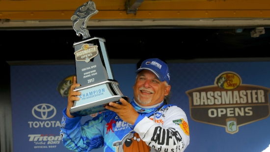 Carl Svebek courtesy of Bassmaster.com