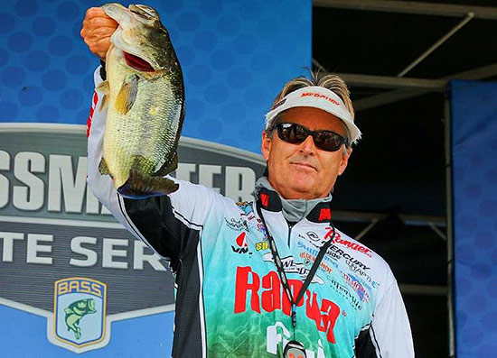 This big 6-pounder carried me through to the weekend. - photo courtesy of BASSMASTER.com