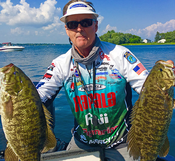 Big brownies like these can test the boundaries of light-line angling.