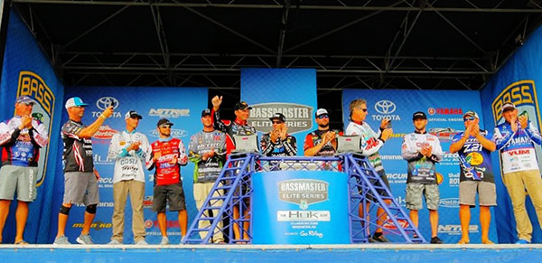 A who's who of smallmouth experts made up the Top-12 in this event.