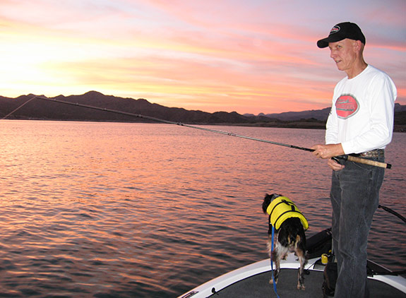 Once the sun begins to set, you no longer have to deal with jet skis or skiers -- it's a lot more relaxing than fighting summer day lake traffic.