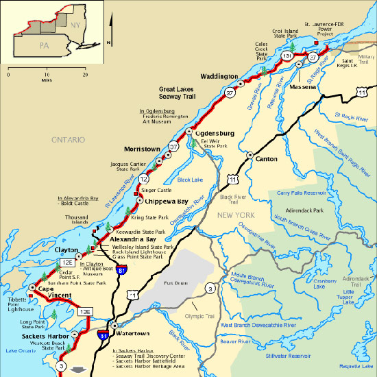 Our tournament waters stretched from the mouth of Lake Ontario at Cape Vincent to the dam at Massena -- nearly 100 miles.