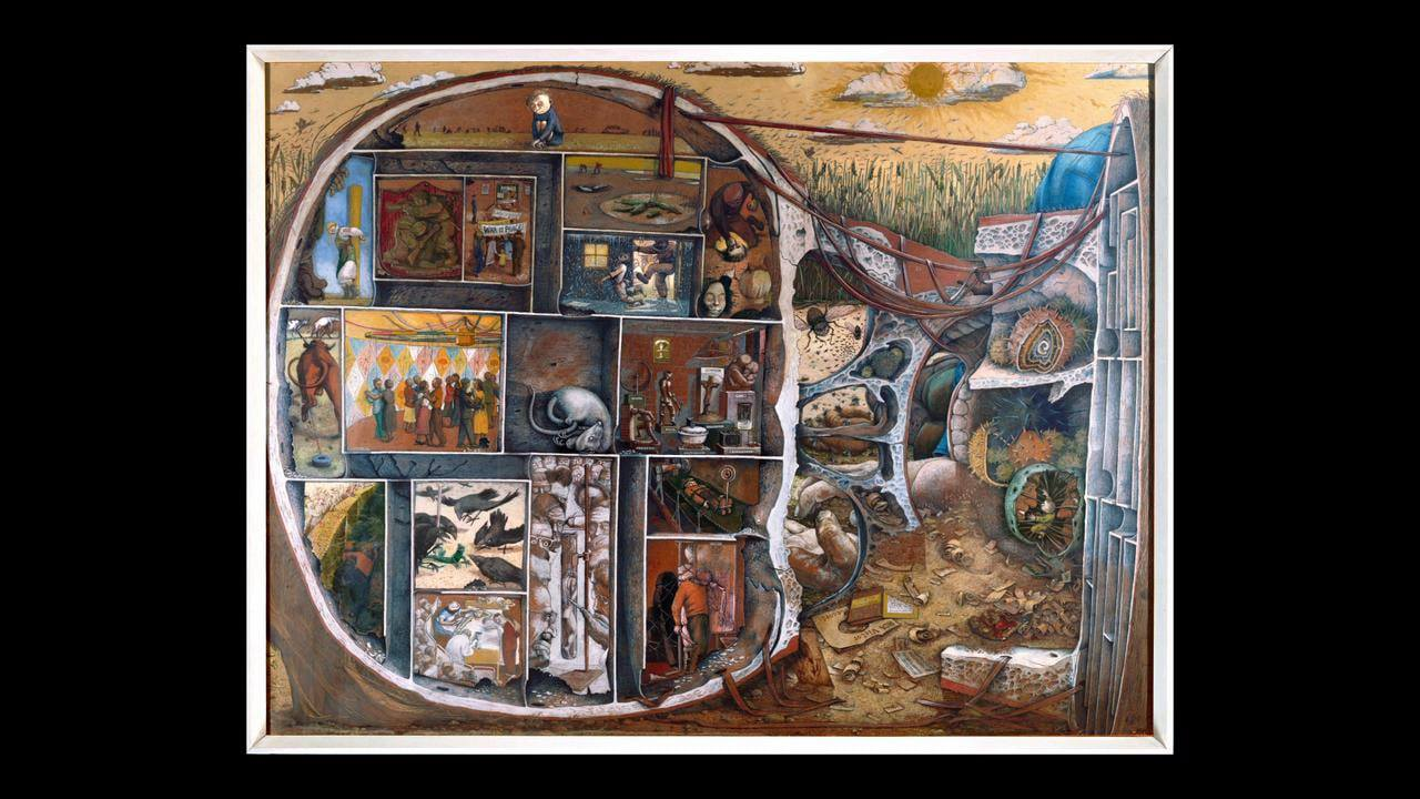 The Maze  by Kurelek
