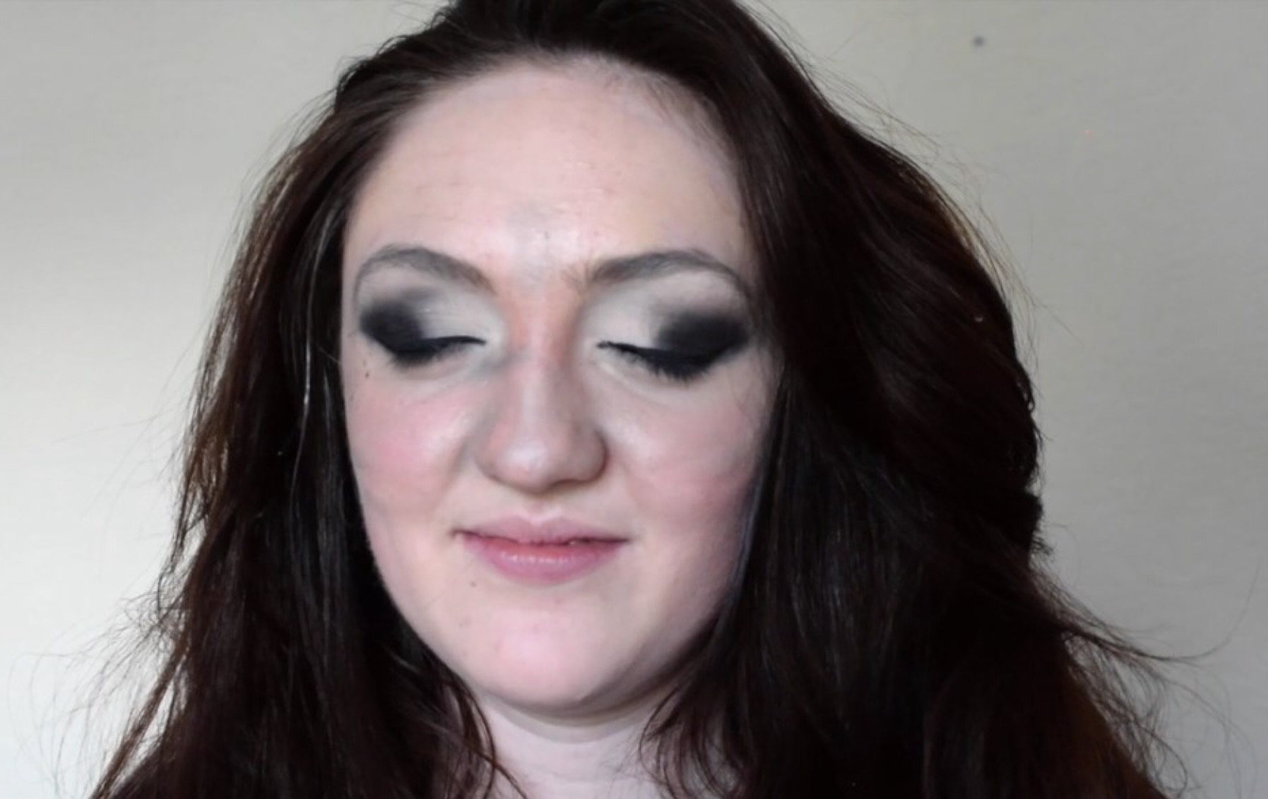 Charlotte : 'Basically, do not do your eye makeup while slightly 'under the influence.' You end up with a lot of regrets.'