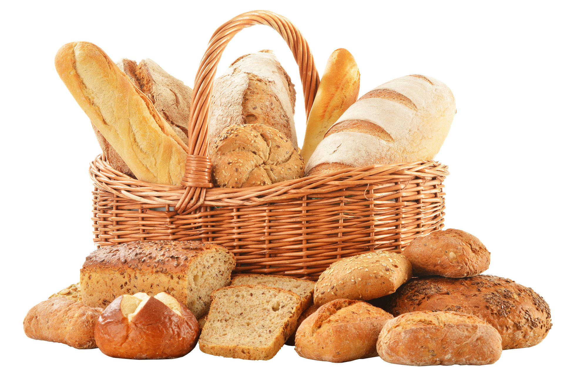 These rolls can add fiber to your diet but don't eat too much, or you will have greater difficulties ahead!