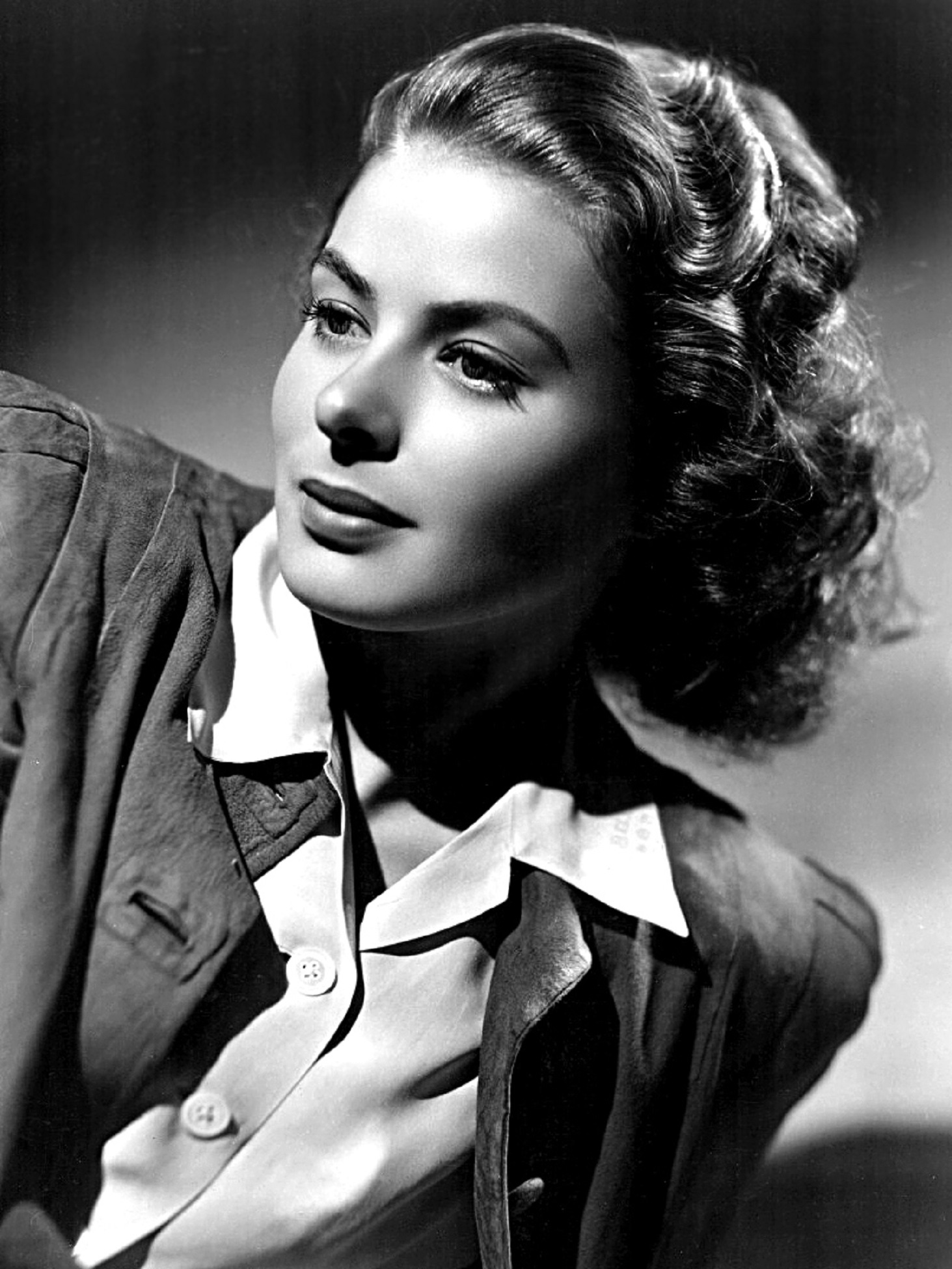Ingrid Bergman, one of the Hollywood stars who helped popularise the Christmas jumper.