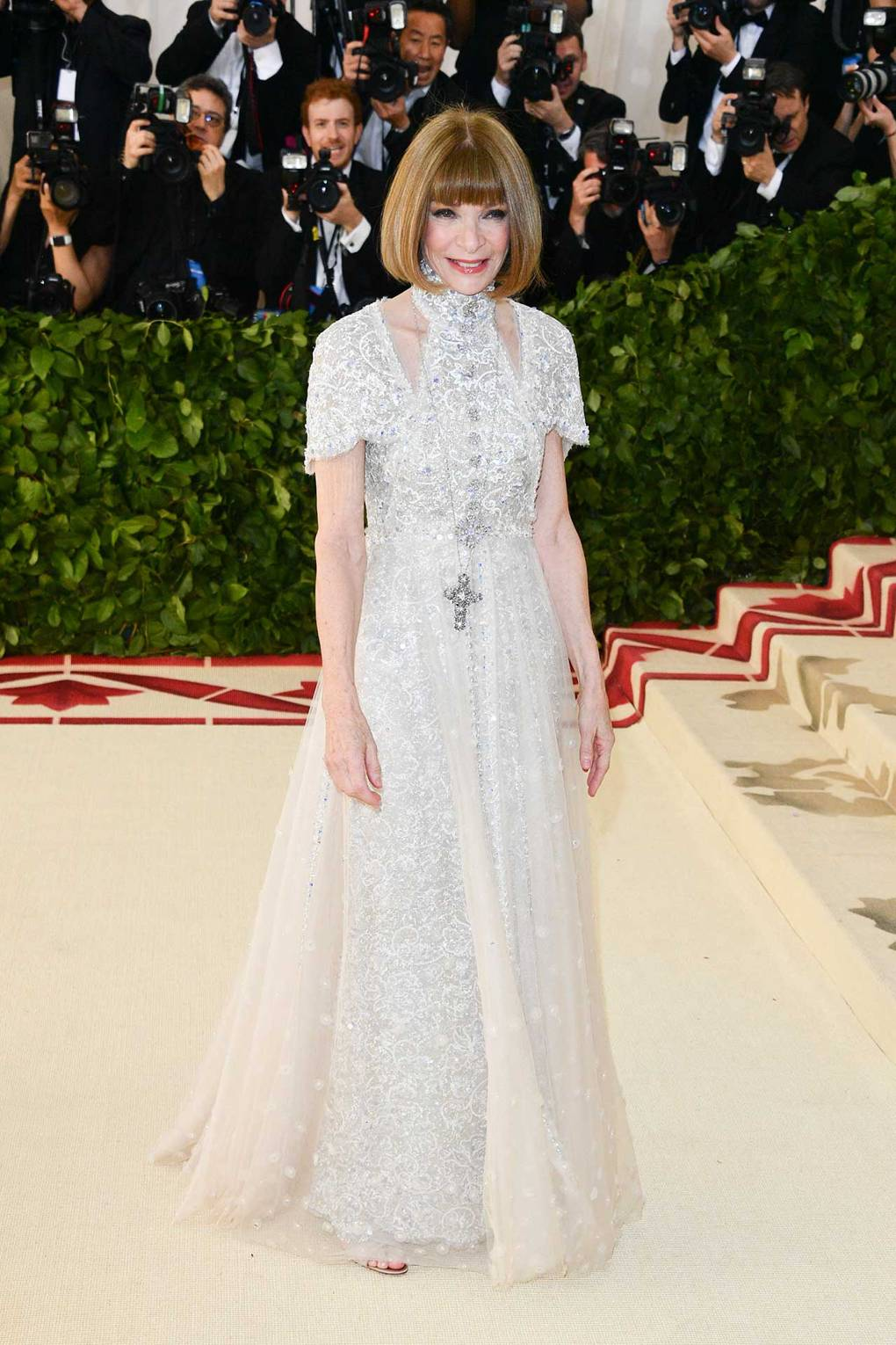 Anna Wintour in Chanel (Getty Images)