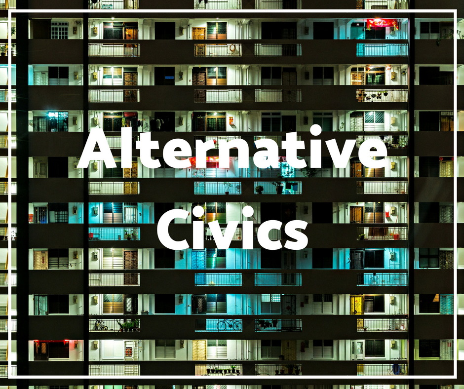 an active research project exploring how artists reimagine the world and develop models of change relevant to culture, citizenship and the future. ALTERNATIVE CIVICS ASKS how artistry can CREATE PRACTICAL SOLUTIONS TO PROBLEMS WHILE redefiNING economics, citizenship and our relationship with environment.