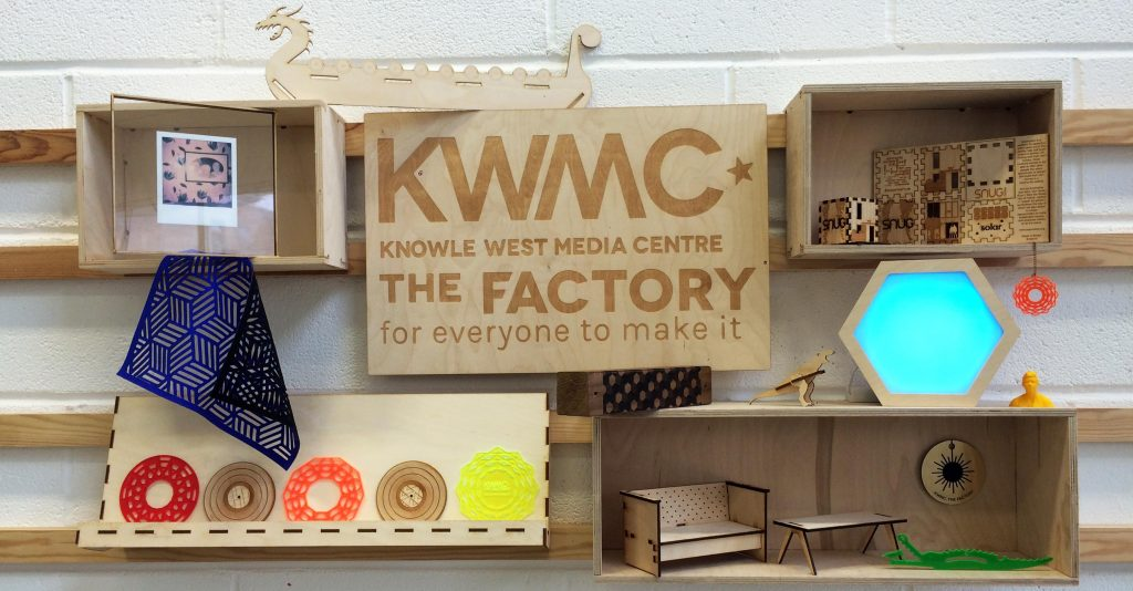 'Innovation space for space making, digital fabrication and product design in South Bristol'. Source: KWMC.