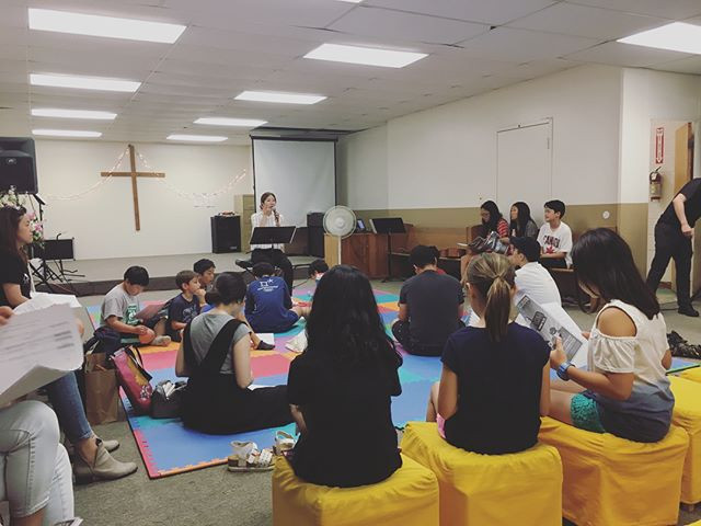 Lodi Summer Camp '18 • There is so much more to Lodi than just the actual camp in the mornings. Each day we gather together as a family in Christ to share, reflect and learn from one another #summermissions #inourownbackyard #thegoodnews #kcsfamily