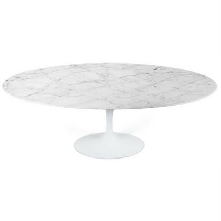 Mesa Saarinen Oval - Carrara
