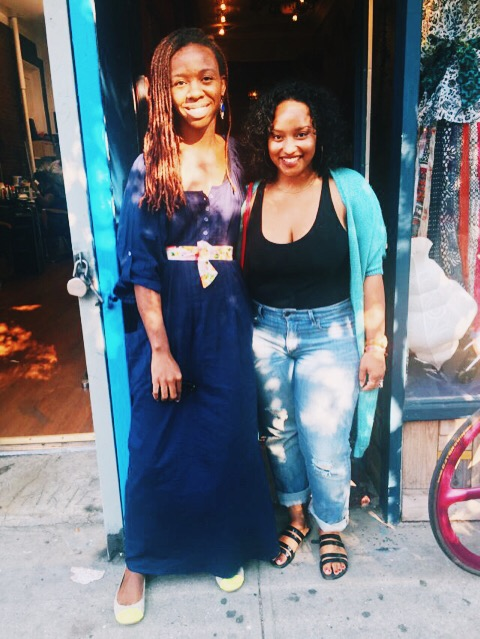 Jordan and I met in person for the first time at Vagabroad's first popup at Martine's Dream in Brooklyn!