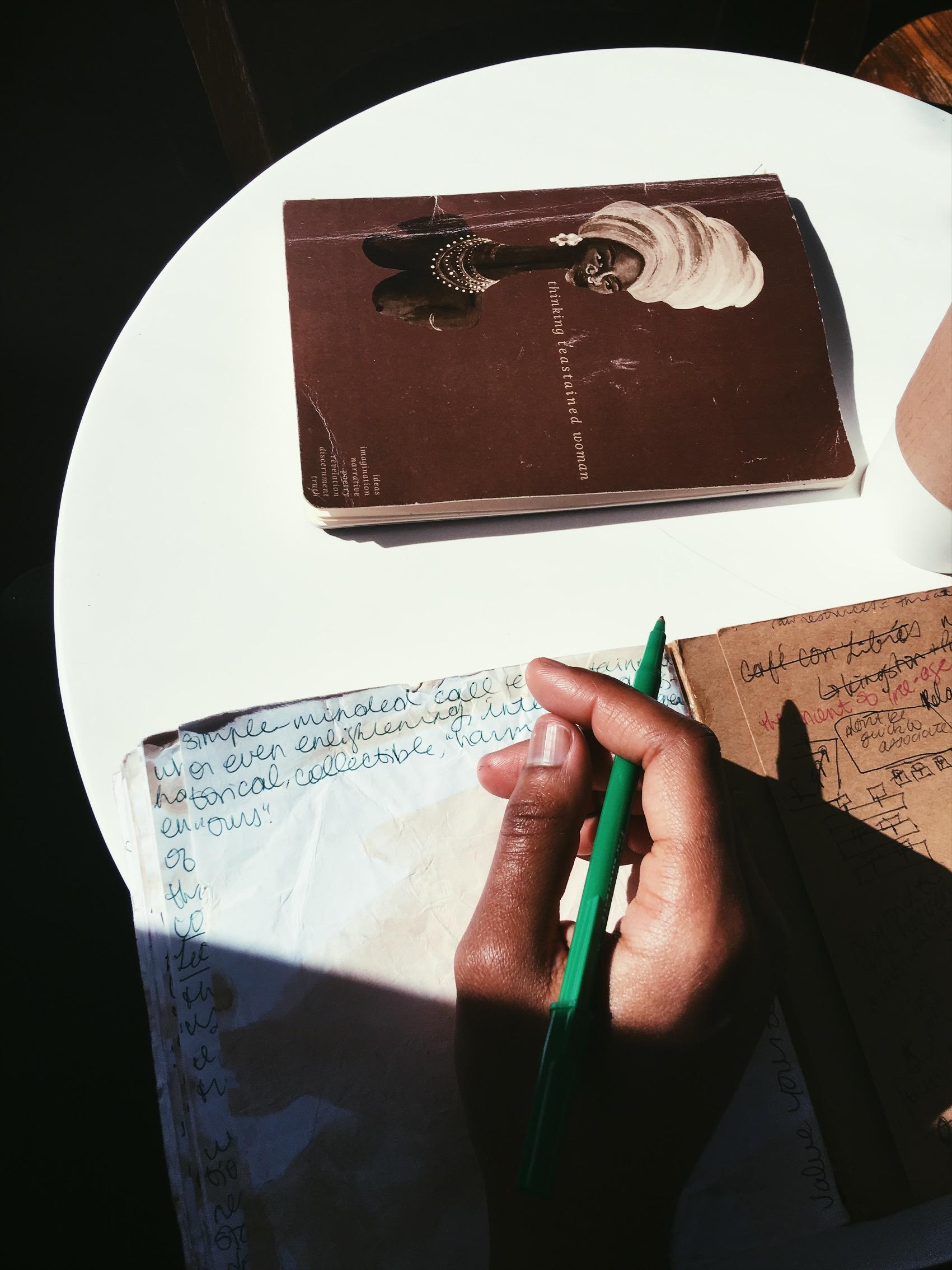 Journaling, 2018. Le Paris Dakar, Brooklyn, NY.