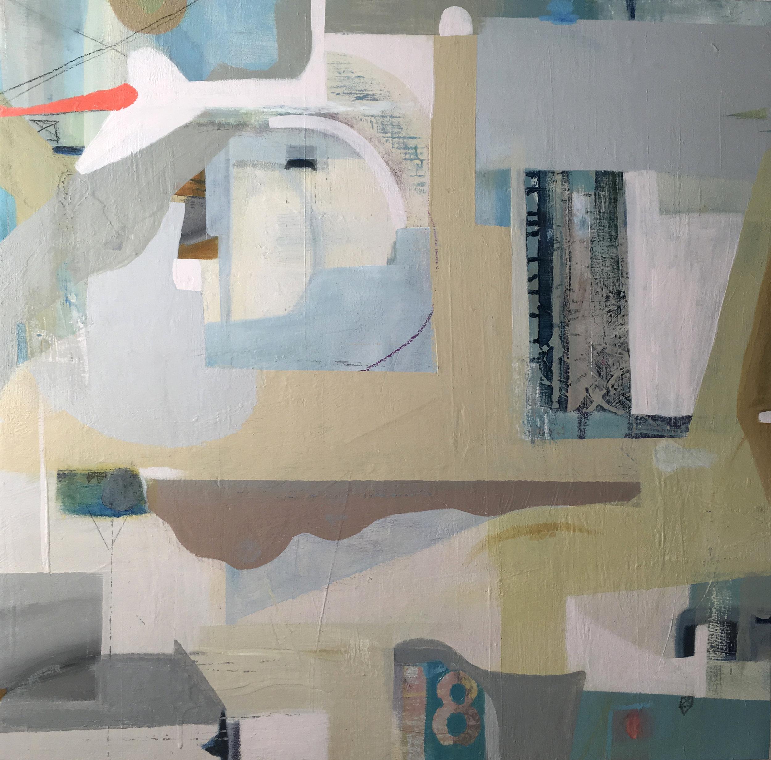 OERSIBNAK NARRATIVE, Acrylic, 36x36