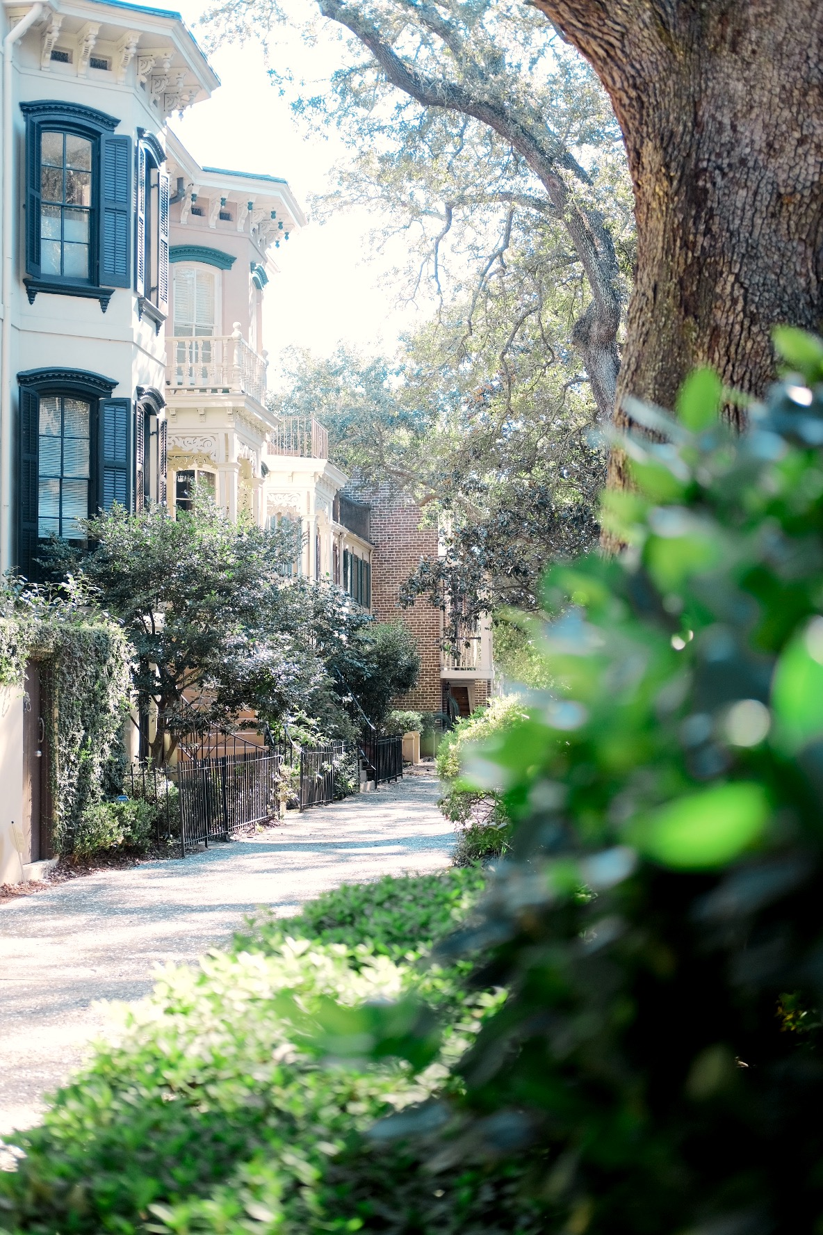 An Autumn Front Porch in Savannah | Genteel & Bard Fine Savannah Walking Tours