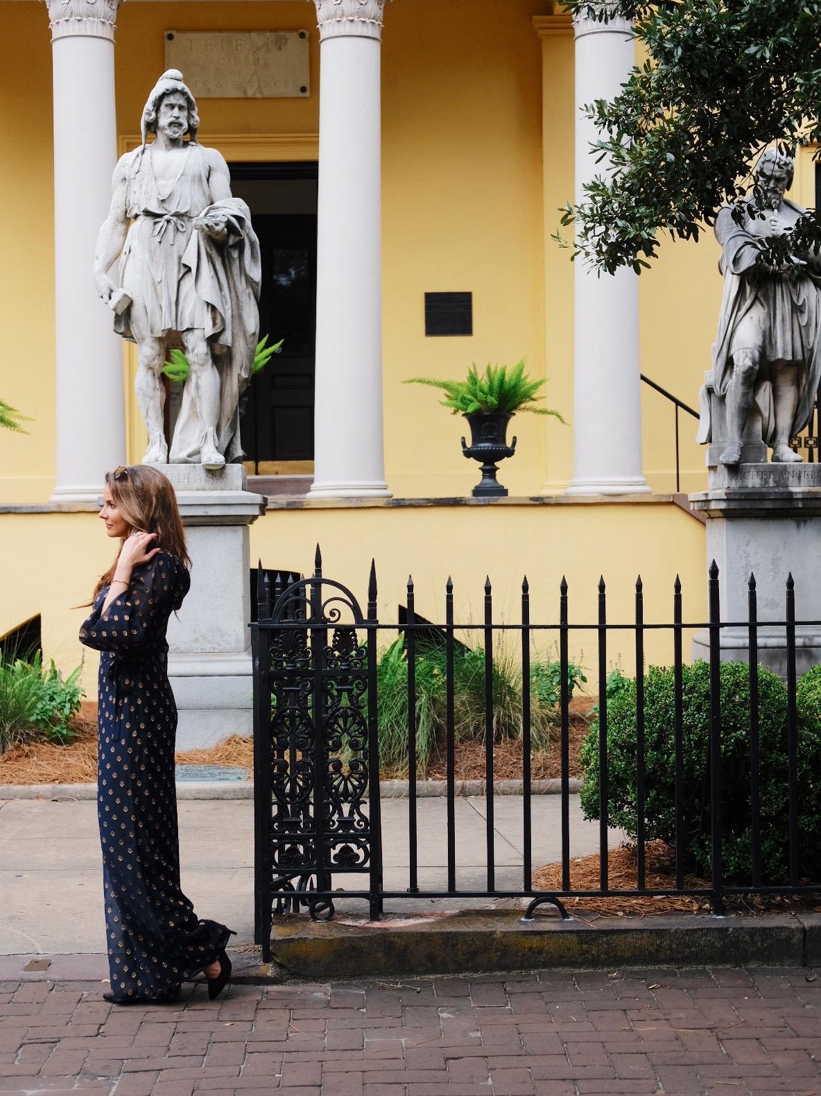 Brenna Michaels and the Telfair Museum in Savannah, Georgia