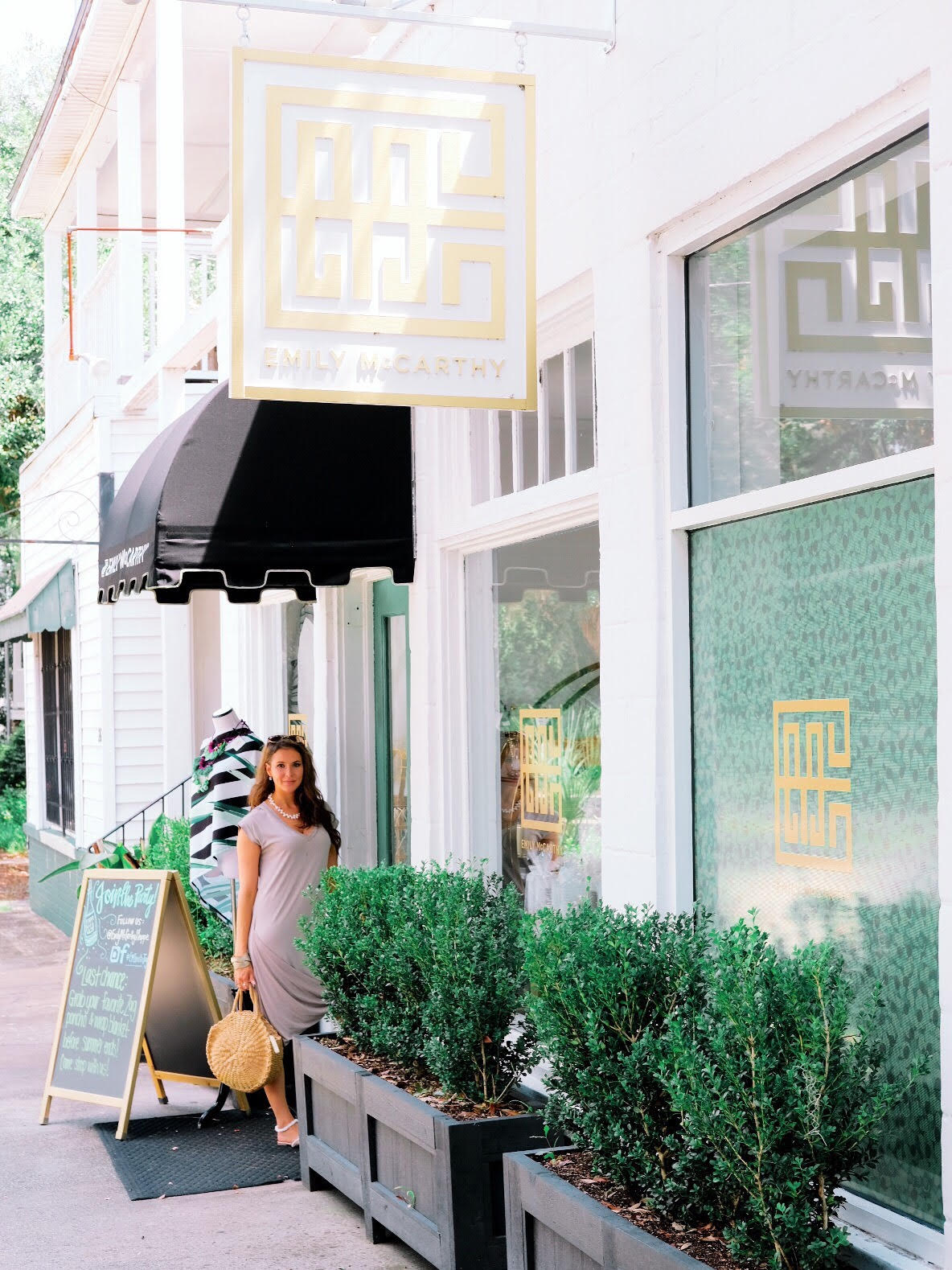 Brenna Lauren Michaels at Emily McCarthy Shoppe in Savannah GA