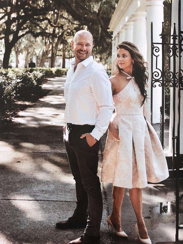 T.C. & Brenna Michaels, husband and wife, Genteel & Bard, Savannah GA