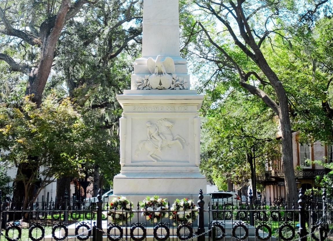 Casamir Pulaski monument Savannah, GA