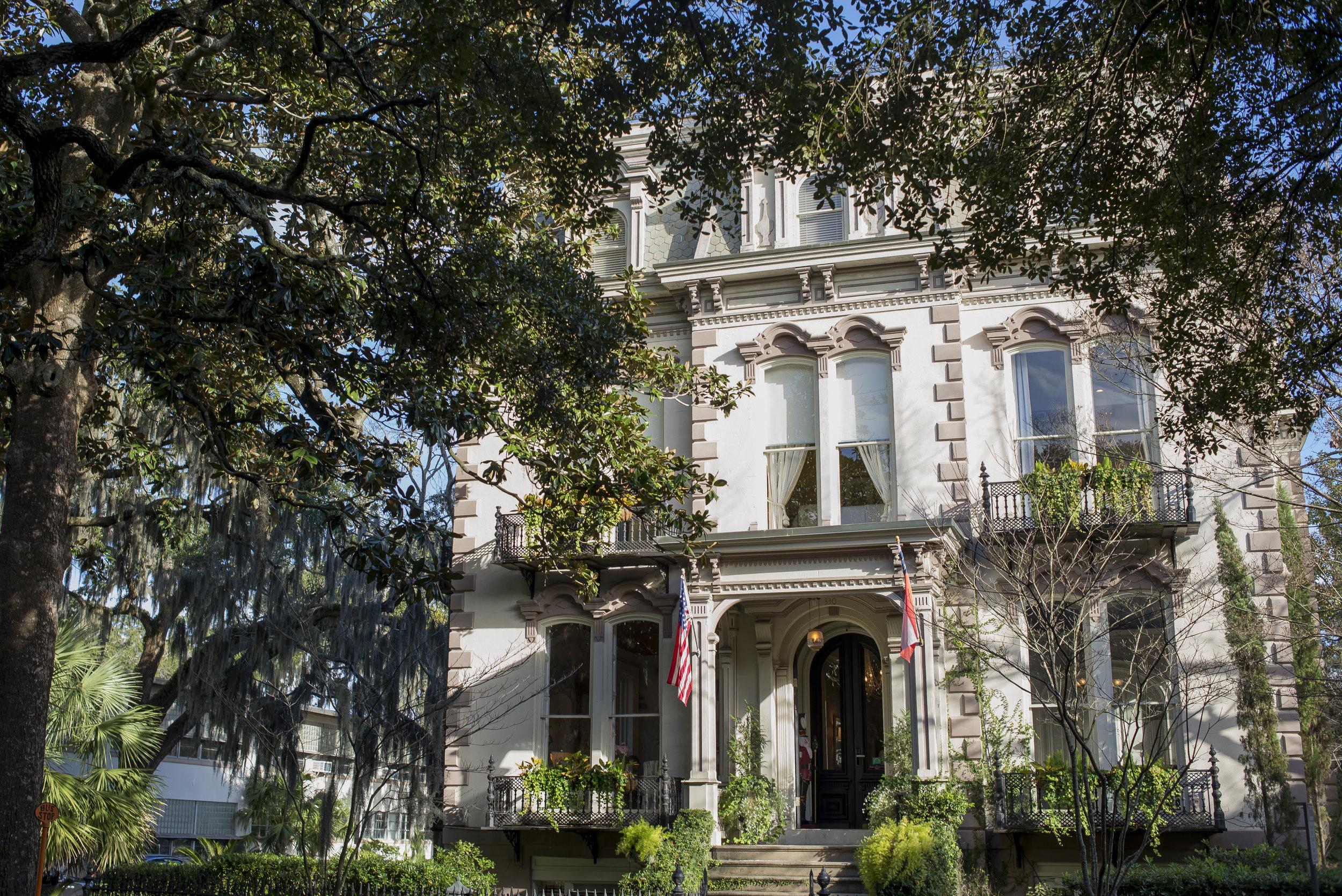 The Hamilton-Turner Inn, Savannah, GA, Genteel & Bard